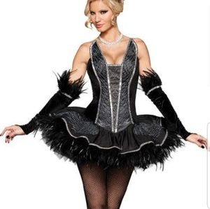 Dresses & Skirts - Black swan Halloween costume